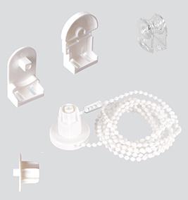 zubeh r f r jalousien und rollos lamellenreiniger stabhalter zugschn re der jalousienladen. Black Bedroom Furniture Sets. Home Design Ideas